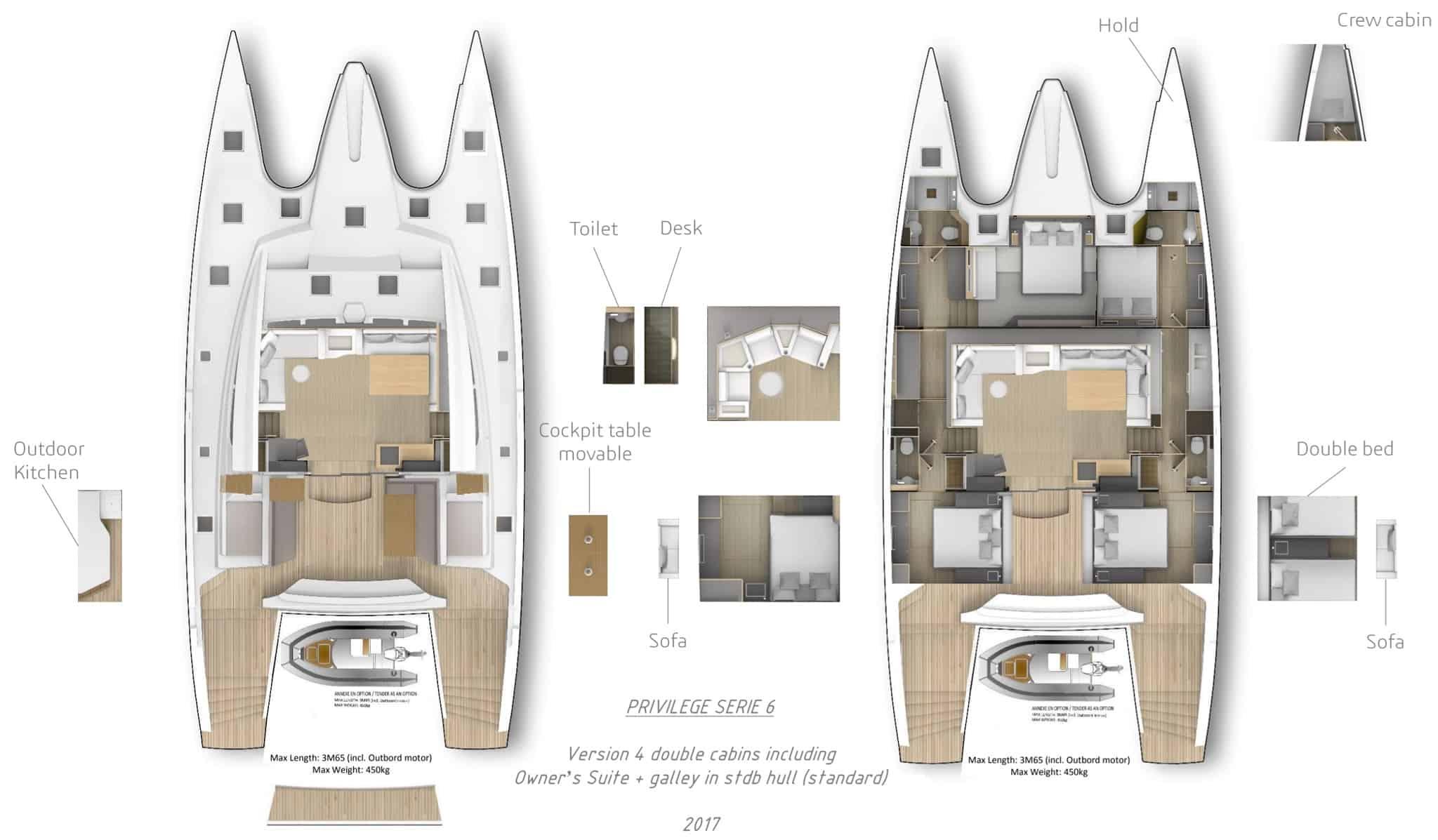 Privilege Series 7 Catamaran -Layout1