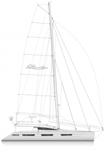 Privilege 7 Series Sail Plan