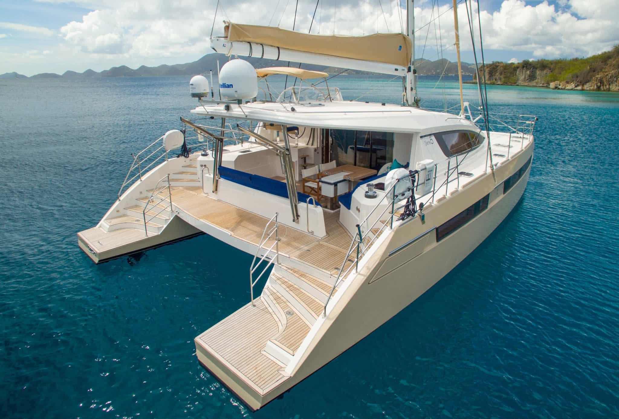 Privilege catamaran 5 Series