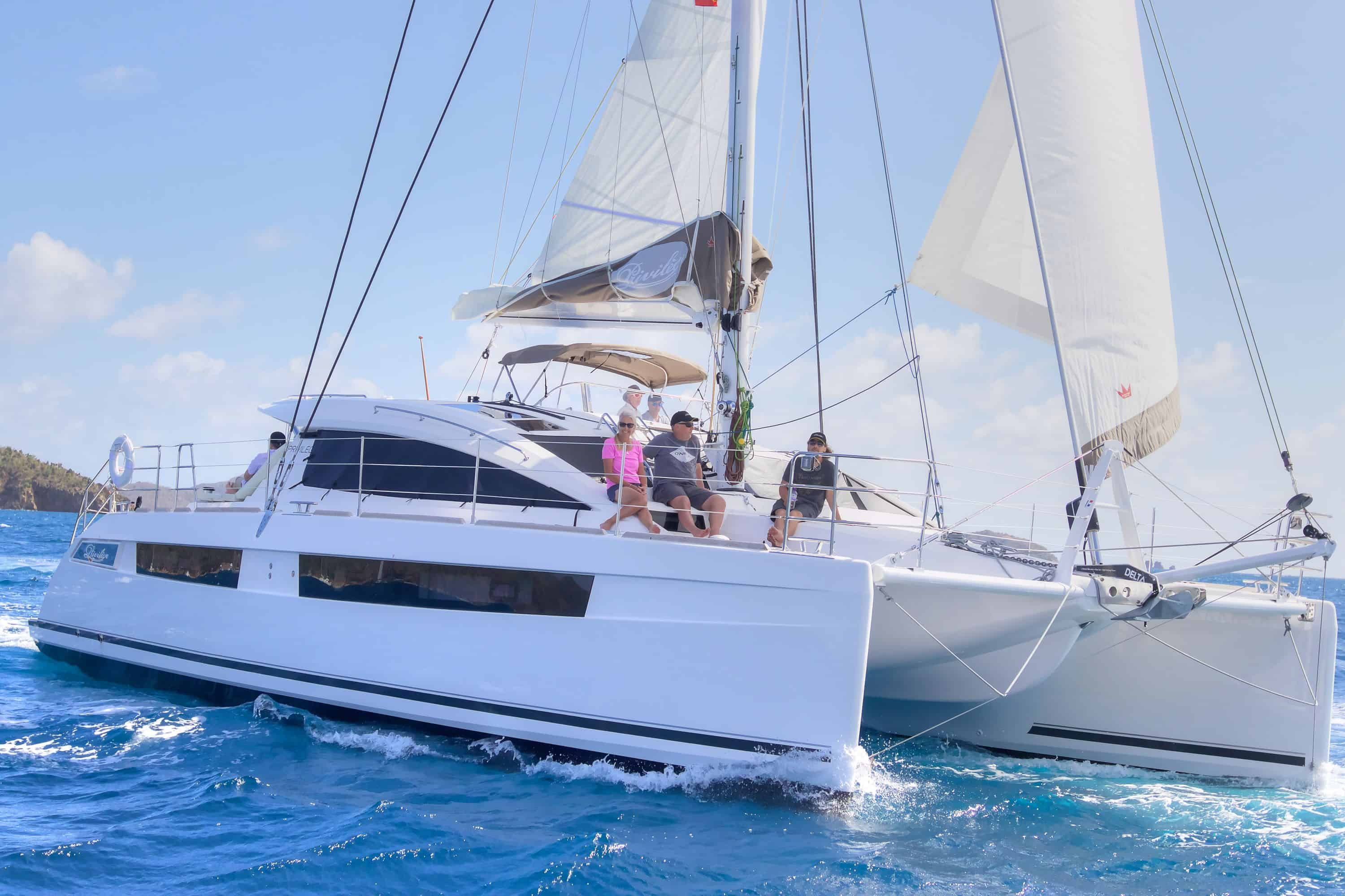 Privilege 500 Catamaran