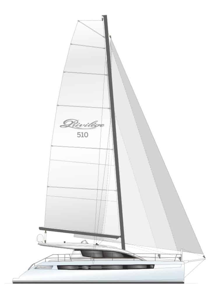P510 Sail Plan