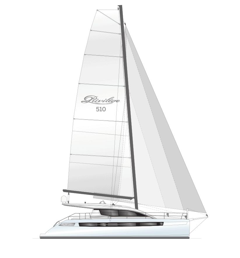 510 Sail Plan