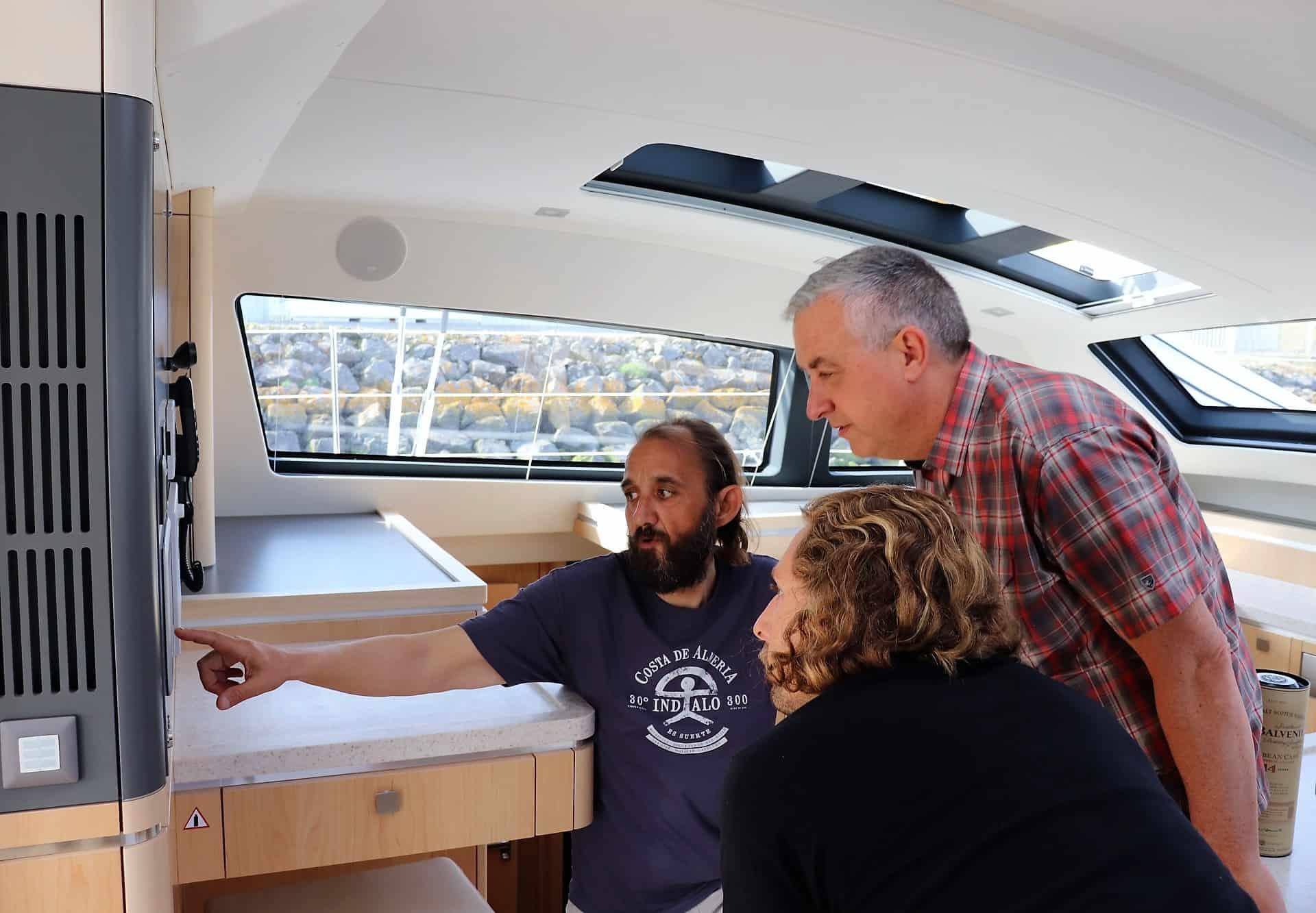 Xavier teaching on board systems