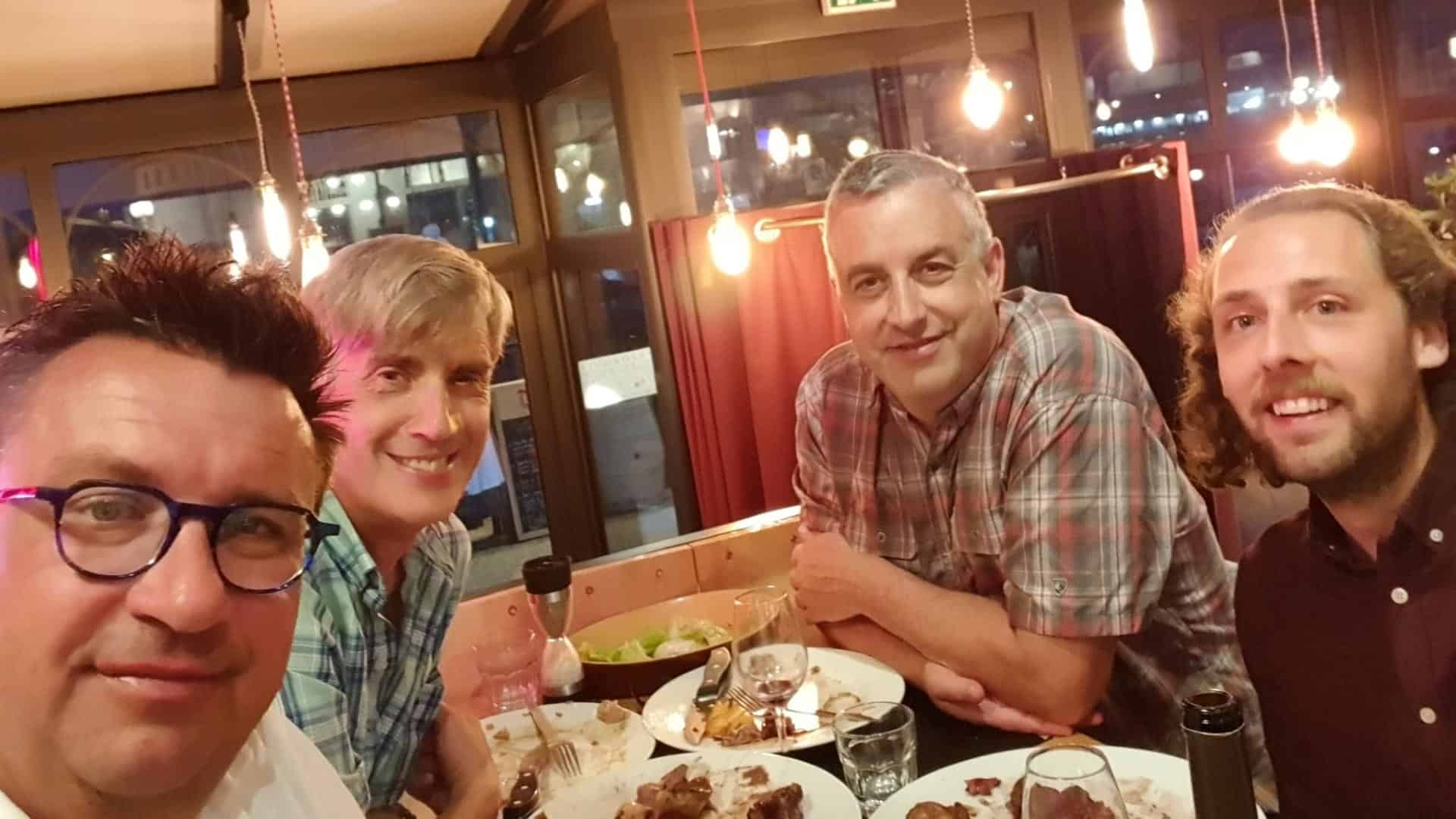 Gilles is a great host and is always anxious to introduce his guests to the best the Vendee region has to offer. Before leaving Les Sables, Gilles treated us to an evening at a friend's restaurant in the old port. Fantastic.
