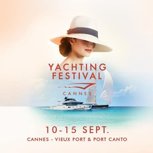 Poster for Cannes Yachting Festival 2019