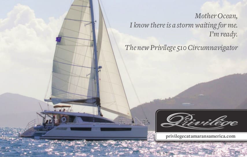 Cruising World ad Mother Ocean 510 circumnavigator