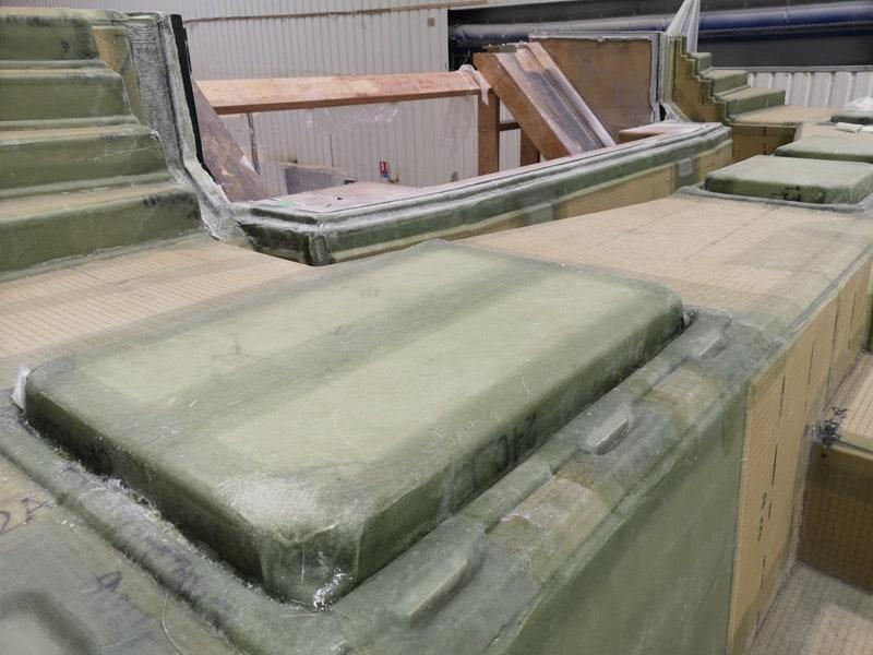 580 Deck Layup