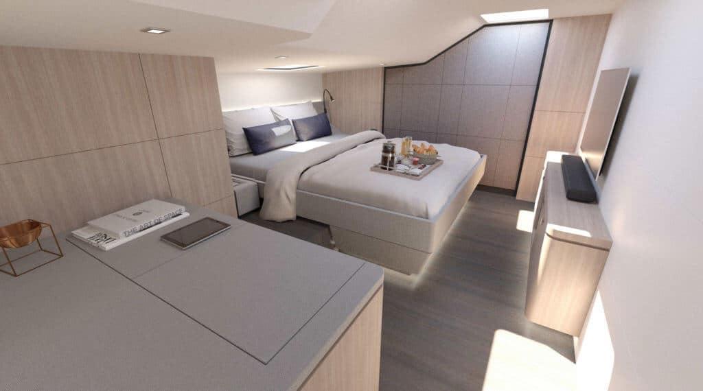 Privilege 640 Owner's Cabin