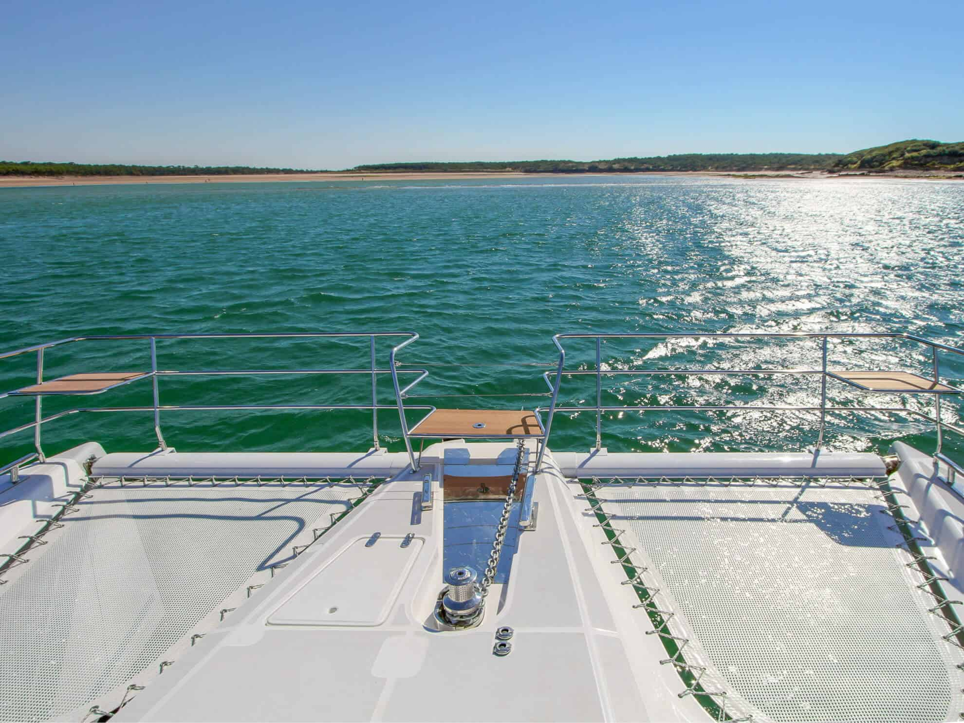 The foredeck