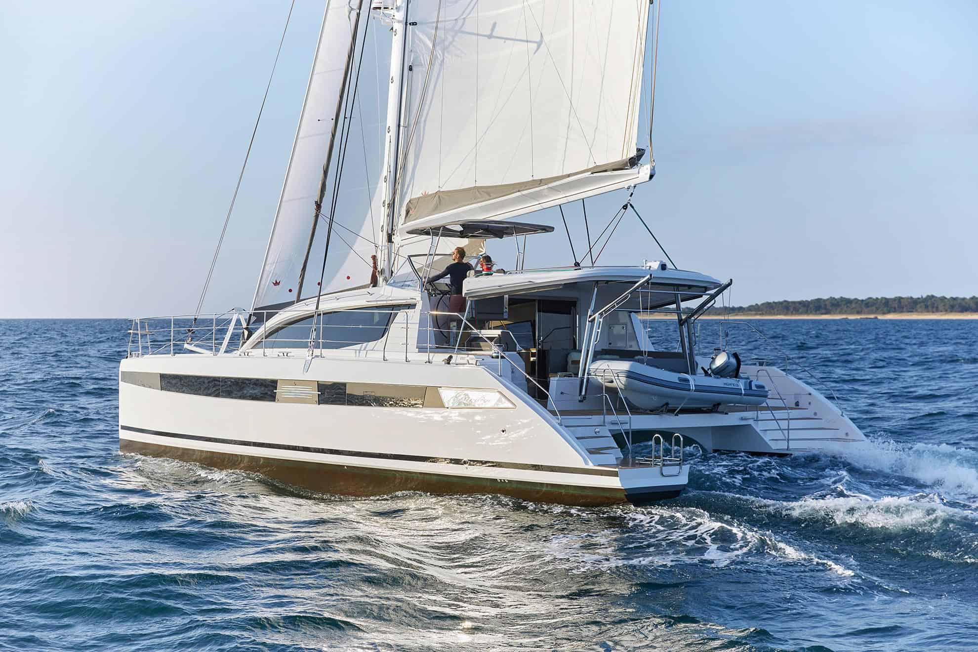 Privilege 510 Sailing
