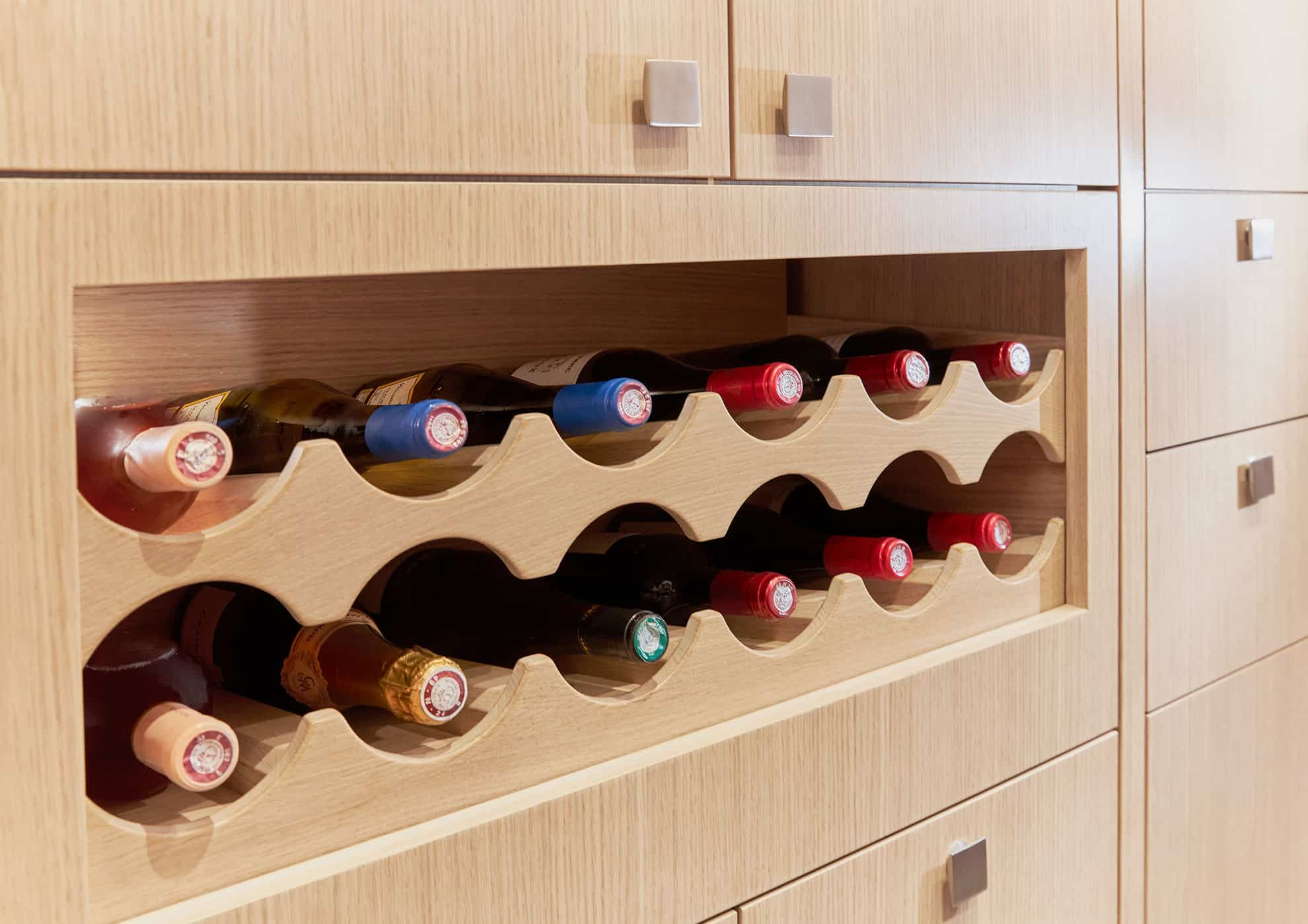 Privilege 510 Wine rack