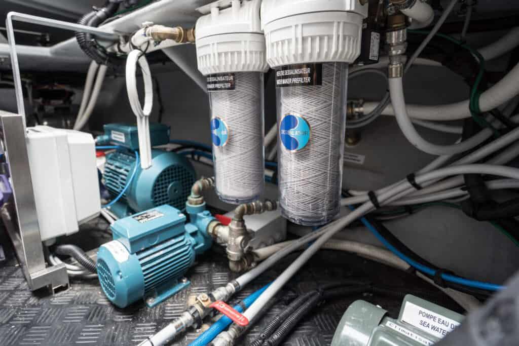 Port Engine Room - Desalinator
