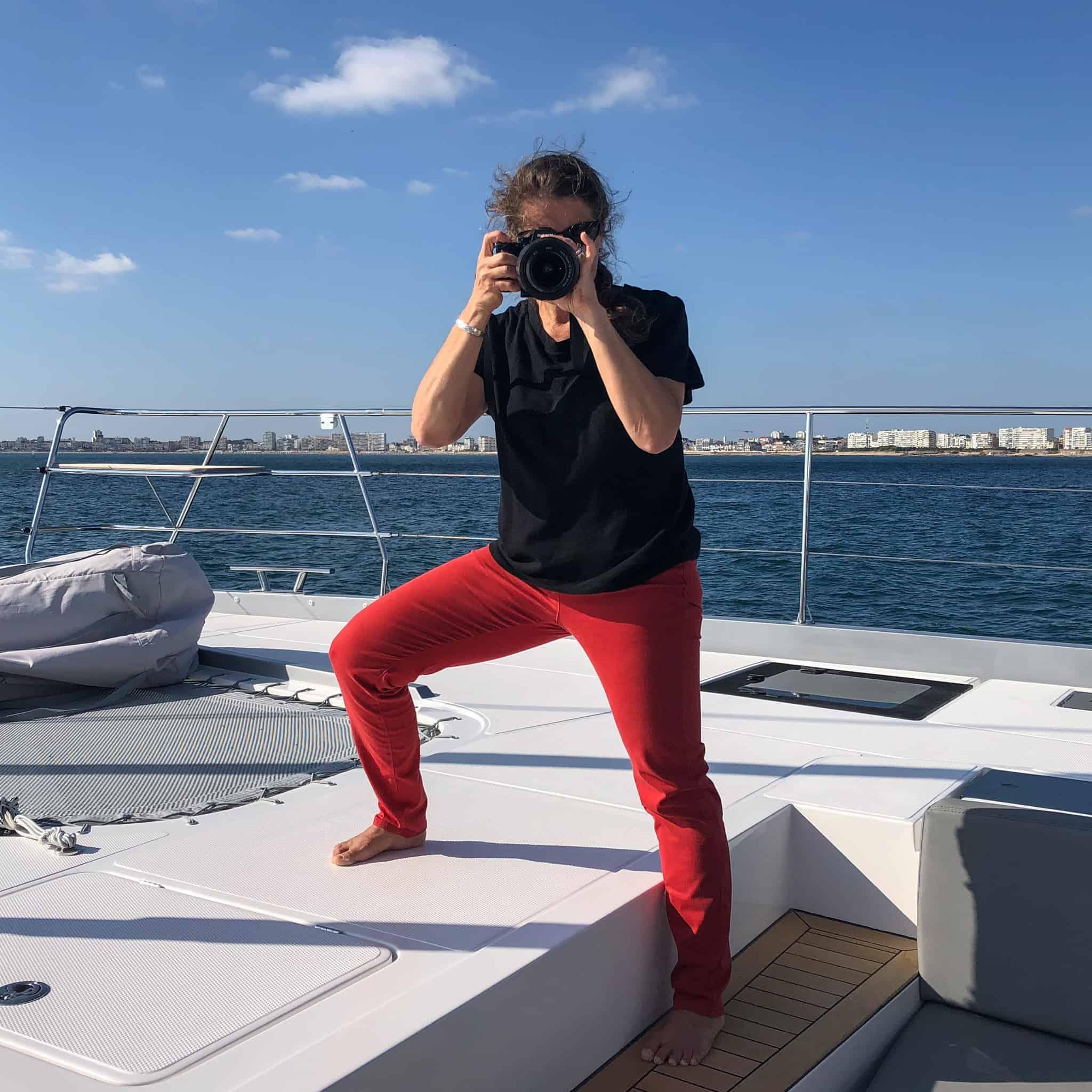 Salwa Farah at Privilege Catamarans America
