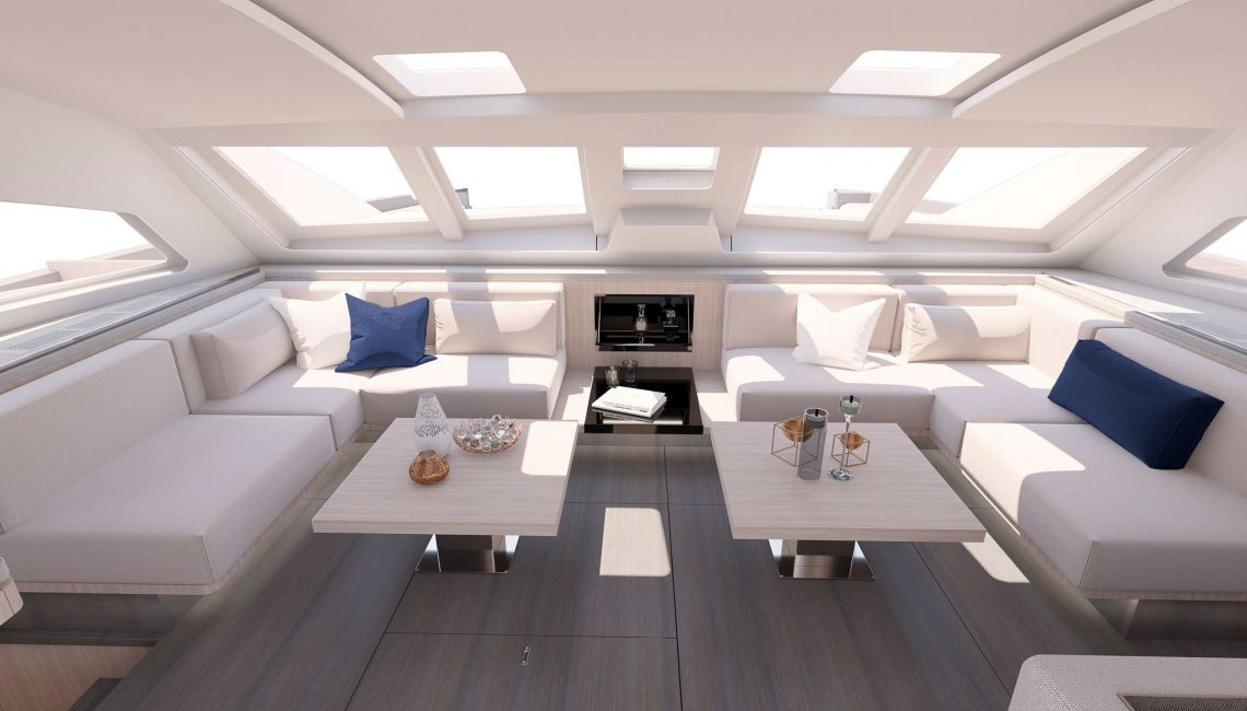 The New Privilege 640 Interior is versatile and will accommodate your shifting living requirements